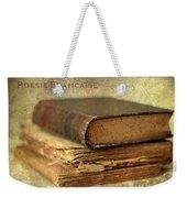 Poesie Francaise Weekender Tote Bag