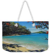 Pohutukawa Nz - Beach And Rangitoto  Weekender Tote Bag