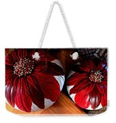 Poinsettias - Handmade - Crafts - Pumpkins Weekender Tote Bag