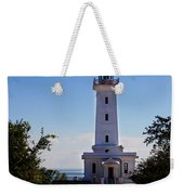 Point Abino Lighthouse Path Weekender Tote Bag