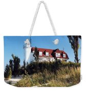 Point Betsie Lighthouse Weekender Tote Bag