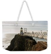 Point Bonita Lighthouse Weekender Tote Bag