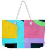 Point Counterpoint Weekender Tote Bag
