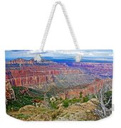 Point Imperial 8803 Feet On North Rim Of Grand Canyon National Park-arizona   Weekender Tote Bag
