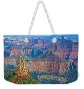 Point Imperial At 8803 Feet On North Rim Of Grand Canyon National Park-arizona   Weekender Tote Bag