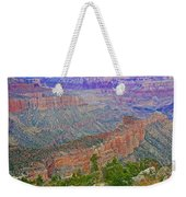 Point Imperial On North Rim Of Grand Canyon National Park-arizona   Weekender Tote Bag