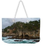 Point Lobos Coastal View Weekender Tote Bag