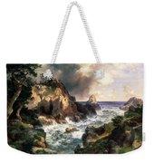 Point Lobos Monterey California Weekender Tote Bag by Thomas Moran