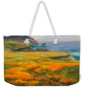 Point Lobos Poppies Weekender Tote Bag
