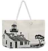 Point Pinos Lighthouse By Diana Sainz Weekender Tote Bag