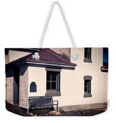 Point Wilson Lighthouse Bench Weekender Tote Bag