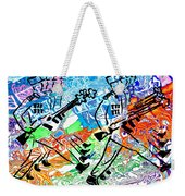 Point Your Toes For The Great Leader 20150223 Weekender Tote Bag