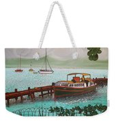 Pointe-a-pitre Martinique Across From Fort Du France Weekender Tote Bag