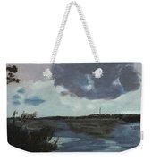 Pointe Aux Chein Blue Skies Weekender Tote Bag