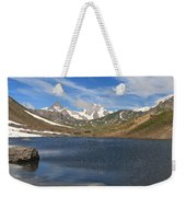 Pointe Rousse Lake - Vertical Composition Weekender Tote Bag