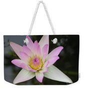 Pointed Pink Lily Weekender Tote Bag