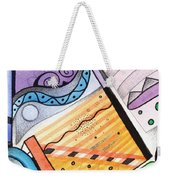 Points Lines And Circles Weekender Tote Bag