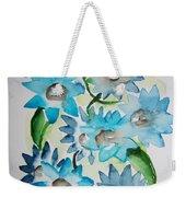 Pointy Petals Weekender Tote Bag