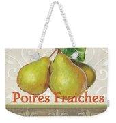 Poires Fraiches Weekender Tote Bag by Debbie DeWitt