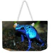 Poison Blue Dart Frog Weekender Tote Bag