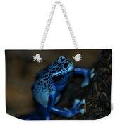 Poisonous Blue Frog 02 Weekender Tote Bag