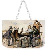 Poker Game, 1840s Weekender Tote Bag