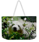 Polar Bear Cub Weekender Tote Bag