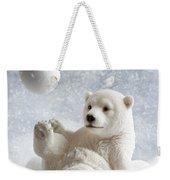 Polar Bear Decoration Weekender Tote Bag