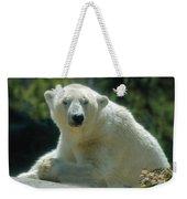 Polar Bear Portrait Weekender Tote Bag