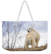 Polar Bear Spring Fling Weekender Tote Bag