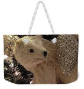 Polar Bear With Ornaments Weekender Tote Bag