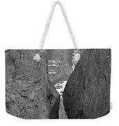 1m3649-bw-polar Circus Ice Route Weekender Tote Bag