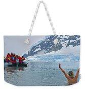 Polar Dip Weekender Tote Bag