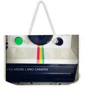 Polaroid Camera.  Weekender Tote Bag