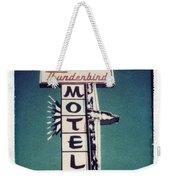 Polaroid Transfer Motel Weekender Tote Bag
