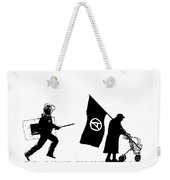 Police And Granny Weekender Tote Bag