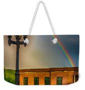 Police At The End Of The Rainbow Weekender Tote Bag