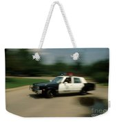 Police Car Weekender Tote Bag