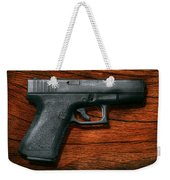 Police - Gun - The Modern Gun  Weekender Tote Bag