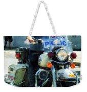Police - Motorcycle Cop Weekender Tote Bag