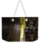 Police Tape Weekender Tote Bag
