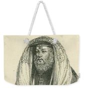 Polish Rabbi With Talith And Phylacteries Weekender Tote Bag