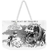 Political Cartoon, 1916 Weekender Tote Bag