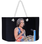 Political Ralley Weekender Tote Bag by Ava Reaves