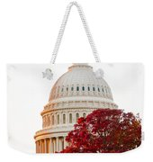 Politics Seeing Red Weekender Tote Bag by Greg Fortier