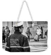 Polizia Roma Capitale Weekender Tote Bag