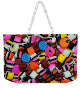 Polka Dot Colorful Candy Weekender Tote Bag