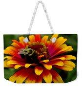 Pollenating Bumblebee Weekender Tote Bag