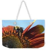 Pollinating Sunflower Seeds Weekender Tote Bag
