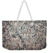 Pollock's Number 1 -- 1950 -- Lavender Mist Weekender Tote Bag by Cora Wandel